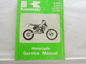 Kx80 Kawasaki Motorcycle Repair Manuals Literature For Sale Ebay