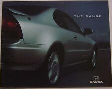 Honda Range Civic Accord Prelude Legend NSX 1994-95 original Sales Brochure
