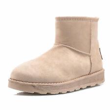 Stivaletti donna tronchetto pelliccia  scamosciato mammut winter boots mz2000-16