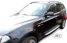 BMW X3 E83  2003 -2010 Front wind deflectors  2pc  set TINTED HEKO