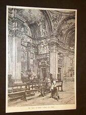 Roma Chiesa del Gesù + Rondinella Poesia di R. Pitteri