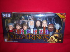 LORD OF THE RINGS collector series PEZ SET-numbered LIMITED EDITION-8 characters