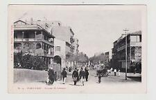 Port Said,Egypt,North Africa,Avenue de Lesseps,Horse Drawn Wagon,c.1901-06