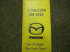 1999 Mazda Technician Job Aids Service Repair Shop DVD Video FACTORY OEM 99