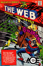 MIGHTY COMICS #40 - The Web vs Ironfist - Back Issue