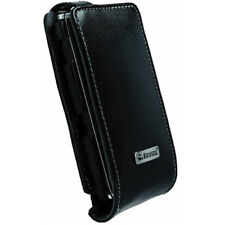 KRUSELL BLACK LEATHER CASE FOR SONY ERICSSON XPERIA X2