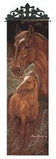 Mariah Horse & Foal Tapestry Wall Hanging Panel