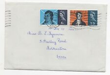 1966 GB First Day Cover ROBERT BURNS COMMEMORATION SG685/6 Folkestone LOCAL MAIL