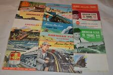 14 vintage American Flyer Catalogs S Scale 1949 1951 1957 1961-1962 and more !