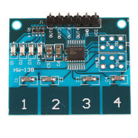 TTP224 4- Channel Digital Touch Sensor Module Capacitive Touch Switch Button Fw