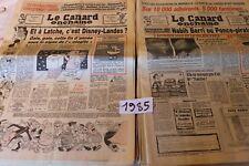 Le Canard Enchaîné  1985 année complète