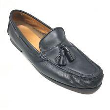 Men's Johnston & Murphy Passport Loafers Dress Shoes Size 12 M Black Leather Q2