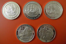 Collection of Silver Medals - Medallic History of Great Britain & The Sea 200 gr