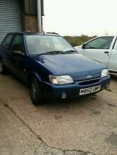 ford fiesta mk3 si 1.6 zetec blue breaking  mk3.5 3 door orange side repeater