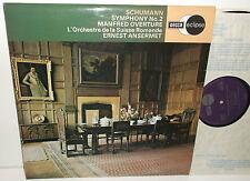 ECS 759 Schumann Symphony No.2 & Manfred Overture L'OSR Ernest Ansermet