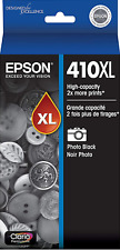 New Genuine Epson 410XL Photo Black Ink Cartridge XP-530 XP-630 XP-830