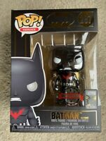 RARE Metallic Chrome Batman Beyond Funko Pop Vinyl New in Mint Box + Protector