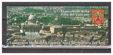 S20685) Vatican MNH 1998 Stamp Exposition Booklet Italy 98