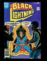 Black Lightning #5 VF- Von Eeden Colletta Superman Jimmy Olsen Cyclotronic Man