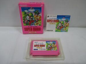 NES -- SUPER MARIO USA -- Action. Box. Famicom, JAPAN Game Nintendo. 12876
