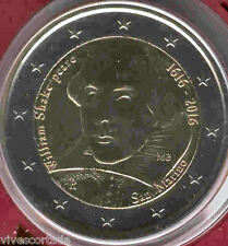 "San Marin 2016  Porte-documents officiel 2 Euros "" Shakespeare "" Nº 16"