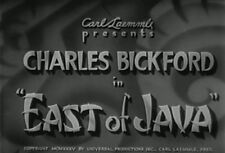 EAST OF JAVA (1935) DVD CHARLES BICKFORD, ELIZABETH YOUNG