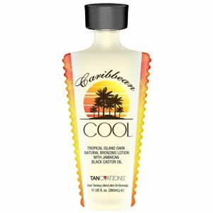 Tanovations Caribbean Cool Natural Bronzer with Jamaican Black Castor Oil 11 oz