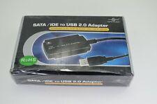 "Vantec SATA/IDE to USB 2.0 Adapter - Supports 2.5"" & 3.5"" SATA and 5.25"" Optical"
