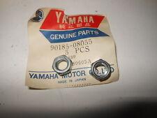 NOS OEM Yamaha YZ125 YSR50 XT500 TZ750 Locking Nut QTY2 90185-08055