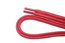 gewachste Schnürsenkel RUND oval  4mm // 75 90 110 cm - LACES Wachs flach