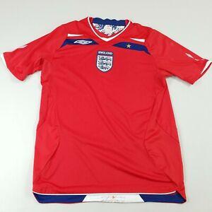 England Umbro Away Jersey 2008 2010 Mens Size Medium Football Soccer Official