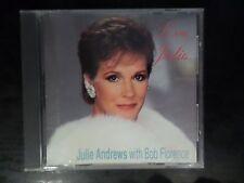 CD ALBUM - JULIE ANDREWS WITH BOB FLORENCE - LOVE JULIE