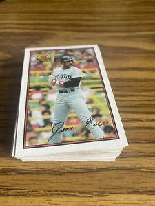 (50) 1989 Bowman Jim Rice #33 Boston Redsox NR-MT+ Recent Break Lot