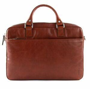 PICARD Buddy Working Bag Aktentasche Henkeltasche Tasche Cognac Braun Neu