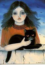 POSTCARD CARTE POSTALE ILLUSTRATEUR ANNA HOLLERER N° LA 143 / CAT / CHAT