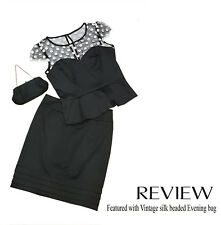 Review vintage inspired black Skirt - Size 10 (Matching top in size 12)