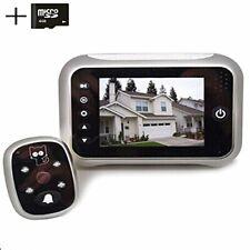 digitsea digital doorbell peephole door camera 3.5 inches TFT LCD screen Night