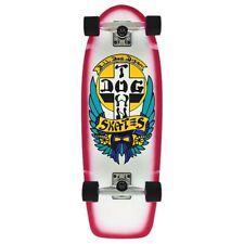 Dogtown Wes Humpston Bull Dog Complete Skateboard White Dip/Red Fade