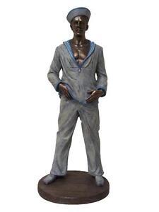 The Sailor Figurine 27cm(H) x 10cm(W) x 11cm(D)