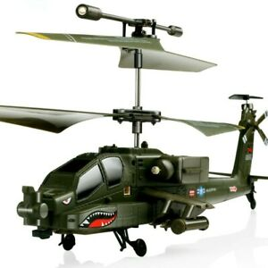 RC Helicopter RTF SYMA S109G 3.5CH Beast AH-64 Military Helicopter Model Kid Toy