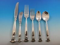 Romance of the Sea by Wallace Sterling Silver Flatware Set for 12 Service 72 pcs