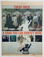 Cheap Trick vintage 1979 Poster Advert Dream Police Rick Nielsen Robin Zander