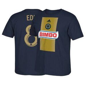 Maurice Edu MLS Philadelphia Union Adidas Men's N&N Jersey Navy Blue T-Shirt