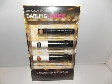 The Color Workshop Darling Lashes 3 Mascara Brown Black Full Size New .56 oz New