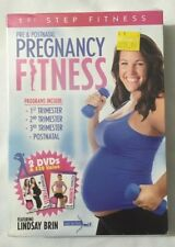 Pregnancy Fitness By Lindsay Brin Factory Sealed Dvd Set With Tags Free Shipping