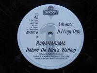 "BANANARAMA Robert De Niro's Waiting - RARE DJ Promo EX Cond 1984 London 12"""