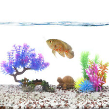 Aquascape Fish Tank Aquarium Artificial Decoration Plastic Plant Fit Oscar