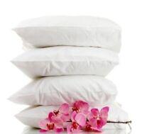 FOUR (4) Hotel Down Alternative Sleeping Pillows - 2 FREE Pillowcases!