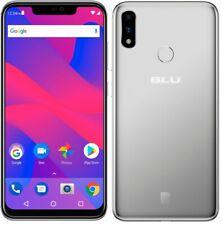 "Blu Vivo Xi+ 64Gb 4G Lte 6.2"" Gsm Unlocked Smartphone Silver V0310Ww - Grade B"