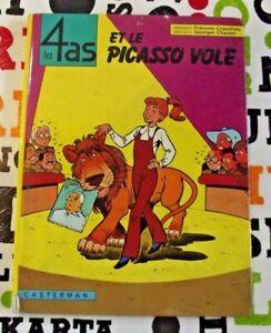 Ancien album BD le 4 AS et le Picasso Volé 1974
